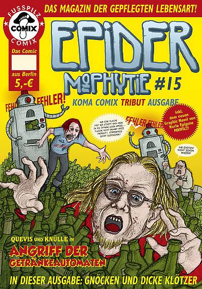 Epidermophytie 15: Koma Comix Tribut Ausgabe - Das Cover