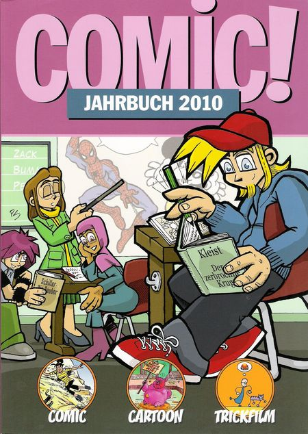 COMIC! Jahrbuch 2010 - Das Cover