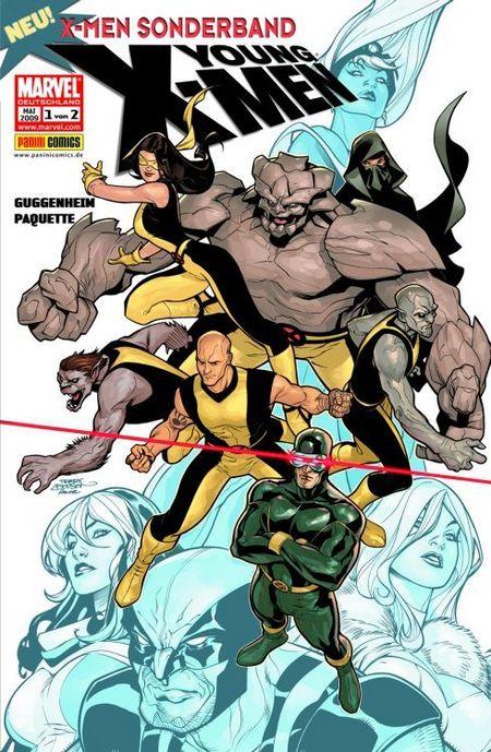 X-Men Sonderband: Young X-Men 1 - Das Cover