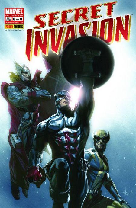 Secret Invasion 8 (von 8) - Das Cover