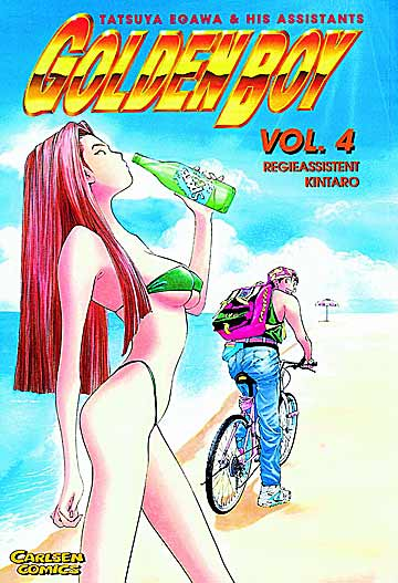 Golden Boy 4 - Das Cover
