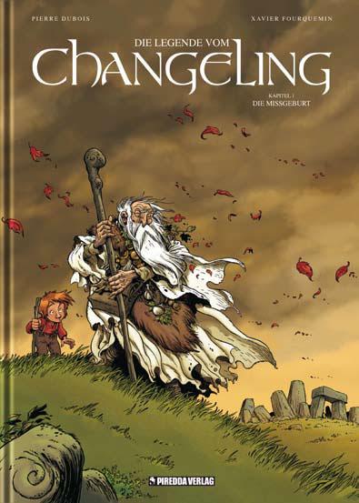 Die Legende vom Changeling 1: Die Missgeburt - Das Cover