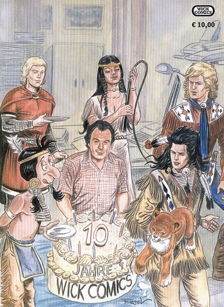 10 Jahre Wick Comics - Das Cover