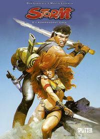 Storm 0: Kommandant Grek - Das Cover
