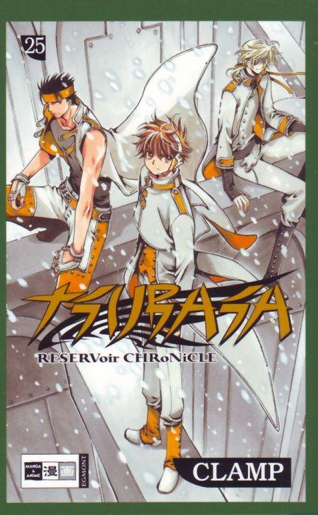 Tsubasa RESERVoir CHRoNiCLE 25 - Das Cover
