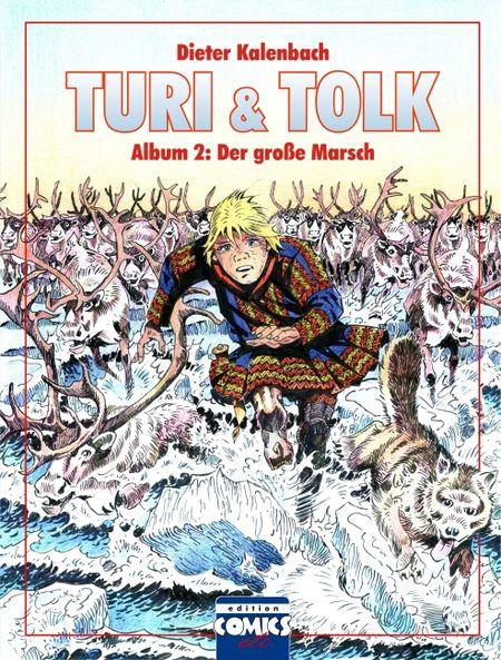 Turi & Tolk Album 2: Der große Marsch - Das Cover