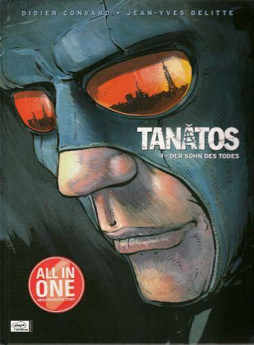 Tanatos 1: Der Sohn des Todes (I) - Das Cover