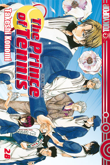 The Prince Of Tennis 28 - Das Cover