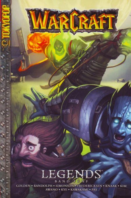 WarCraft: Legends 5 - Das Cover