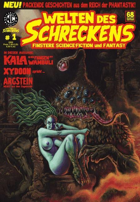 Welten des Schreckens 1 - Das Cover