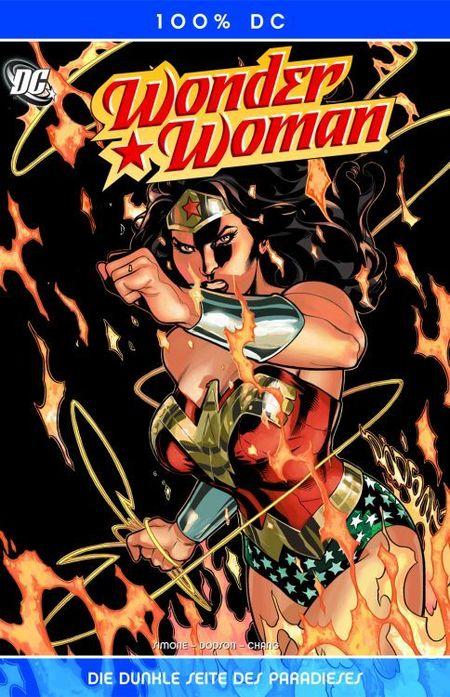 100% DC 20: Wonder Woman – Die Dunkle Seite des Paradieses - Das Cover