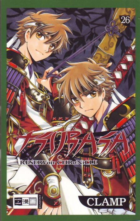 Tsubasa RESERVoir CHRoNiCLE 26 - Das Cover