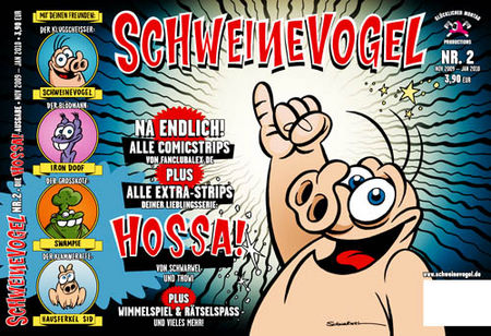 Schweinevogel - Hossa! 2 - Das Cover