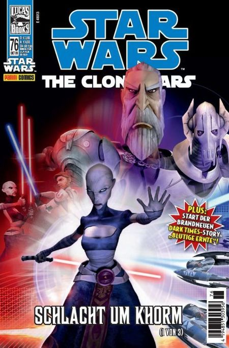 Star Wars 76: The Clone Wars - Das Cover