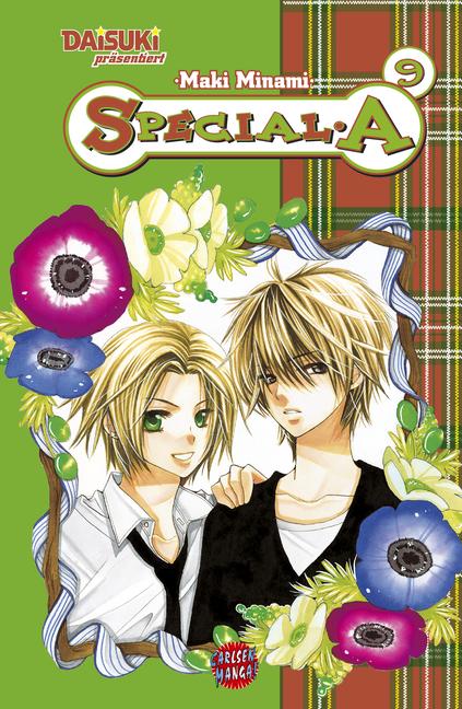 Special A 9 - Das Cover