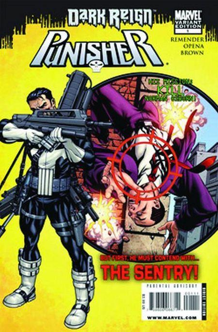 Punisher Dark Reign - Das Cover