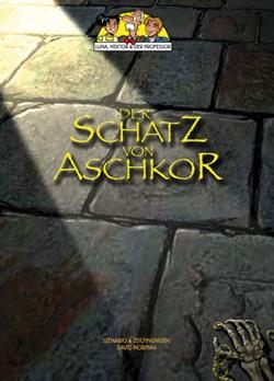 Luna, Hektor und der Professor 1 – Der Schatz von Aschkor - Das Cover