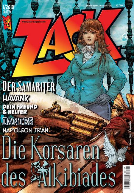 ZACK 127 (Nr. 01/2010) - Das Cover