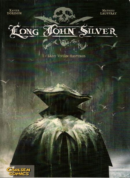 Long John Silver 1: Lady Vivian Hastings (II) - Das Cover
