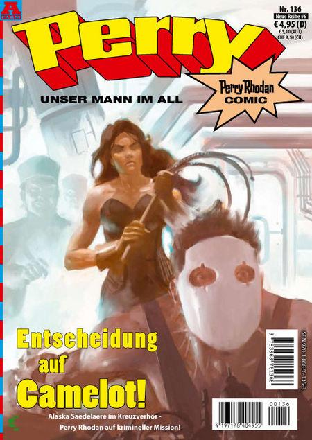 Perry - Unser Mann im All 136 - Das Cover