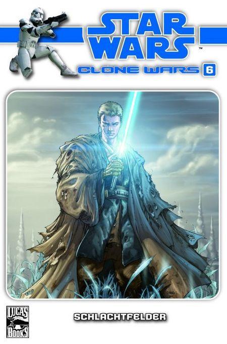 Star Wars: Clone Wars 6: Schlachtfelder - Das Cover