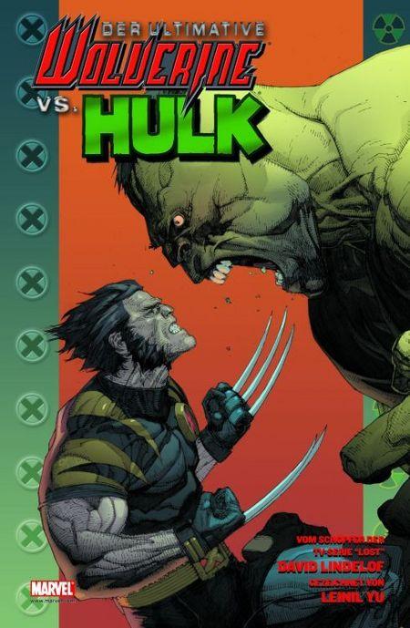 Der ultimative Wolverine vs Hulk - Das Cover