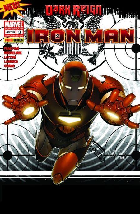 Iron Man 3: Der meistgesuchte Mann der Welt 1 - Das Cover