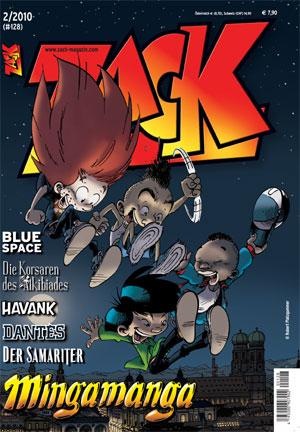 ZACK 128 (Nr. 02/2010) - Das Cover