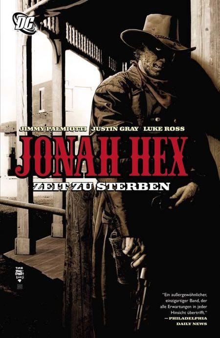 Jonah Hex 1: Zeit zu sterben - Das Cover