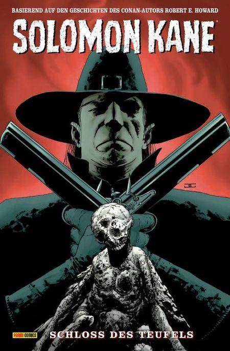 Solomon Kane 1: Schloss des Teufels - Das Cover