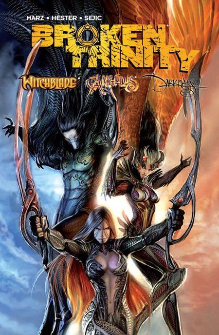 Broken Trinity - Das Cover