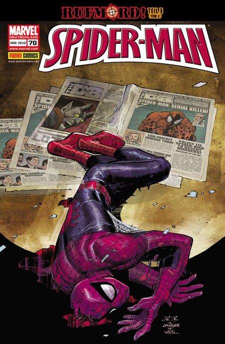Spider-Man 70 - Das Cover