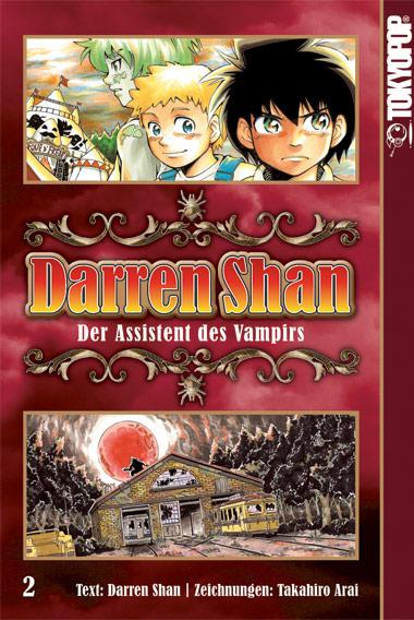 Darren Shan 2: Der Assistent des Vampirs - Das Cover