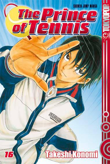The Prince of Tennis 16 - Das Cover