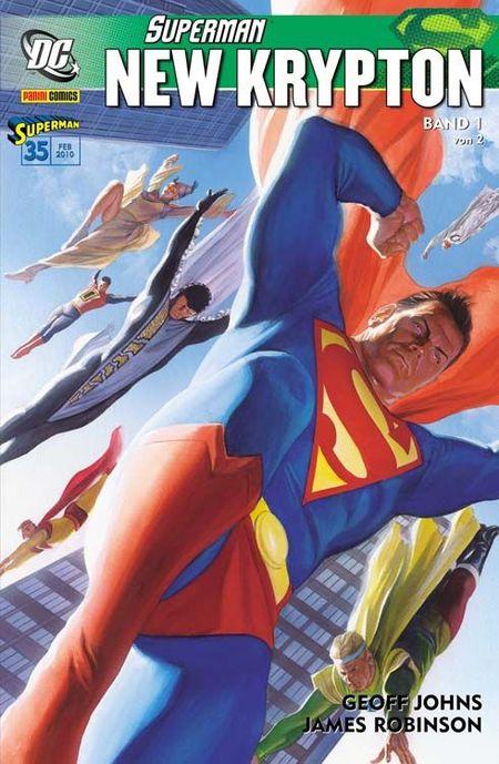 Superman Sonderband 35: New Krypton 1 - Das Cover