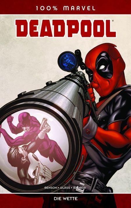 100% Marvel 48: Deadpool - Die Wette - Das Cover
