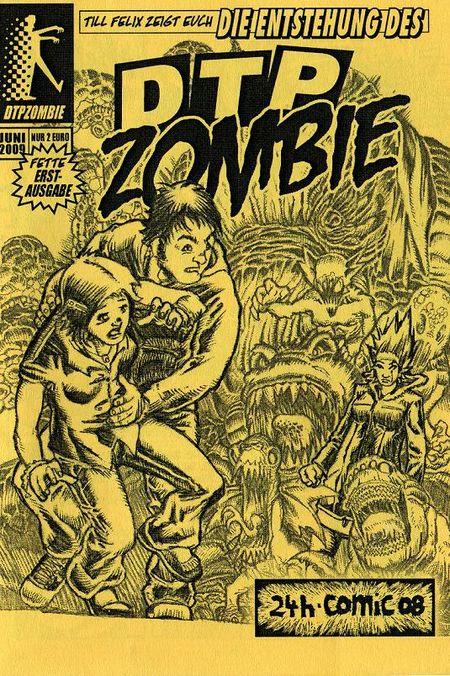 DTP-Zombie 1 - Das Cover