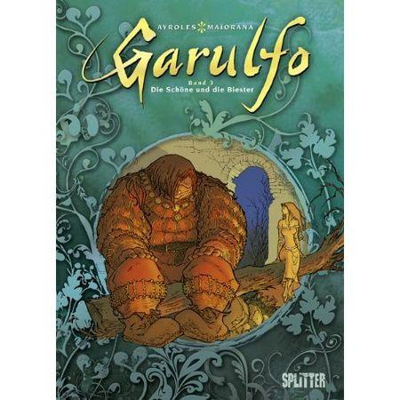 Garulfo 3: Der Prinz mit den zwei Gesichtern - Das Cover