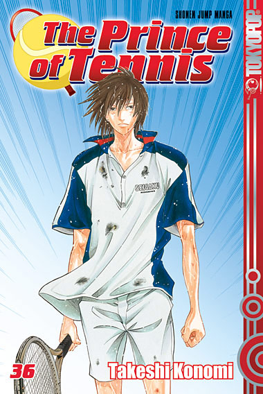 The Prince of Tennis 36 - Das Cover