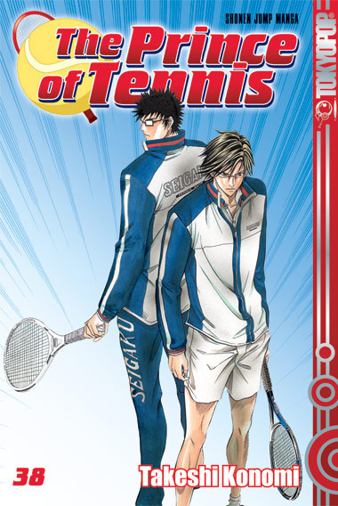 The Prince of Tennis 38 - Das Cover