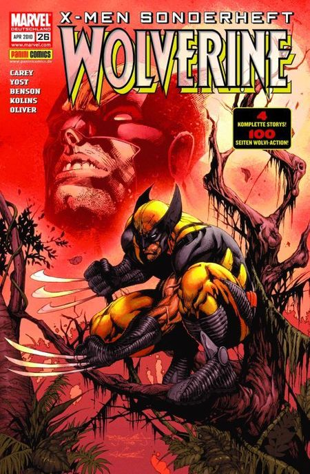 X-Men Sonderheft 26: Wolverine - Das Cover