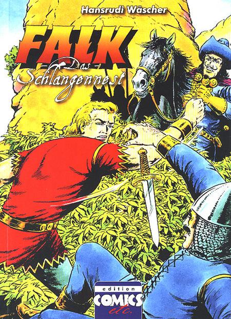 Falk: Das Schlangennest (Ausgabe B) - Das Cover