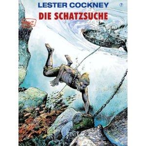 Lester Cockney 7: Die Schatzsuche - Das Cover