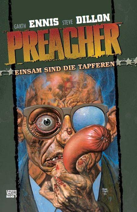 Preacher 7 (von 9): Einsam sind die Tapferen - Das Cover