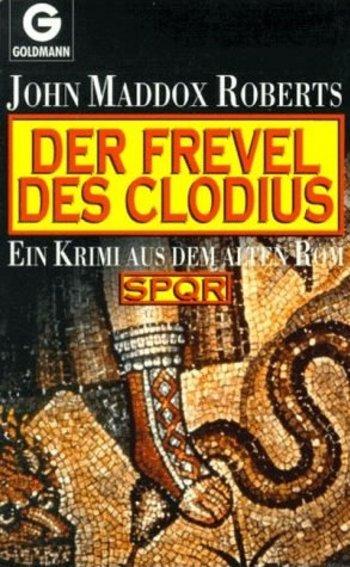 Der Frevel des Clodius - Das Cover