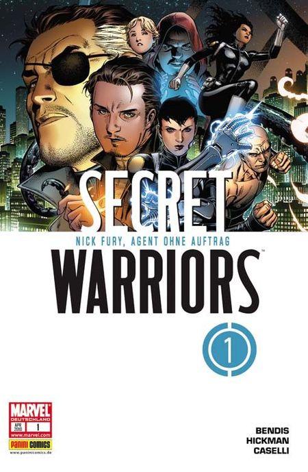 Secret Warriors 1: Nick Fury, Agent ohne Auftrag - Das Cover