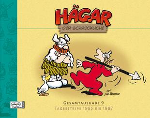Hägar der Schreckliche Gesamtausgabe 9: Tagesstrips 1985 – 1987 - Das Cover