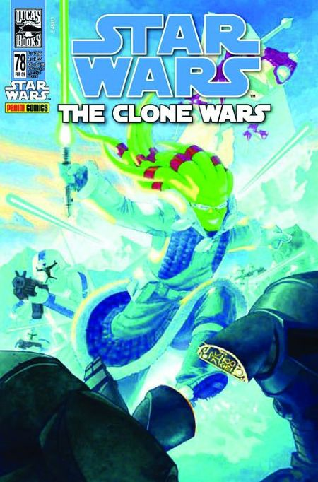 Star Wars 78: The Clone Wars - Das Cover
