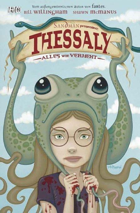 Sandman präsentiert 2: Thessaly - Alles wie verhext - Das Cover