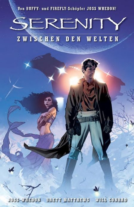 Serenity: Zwischen den Welten - Das Cover